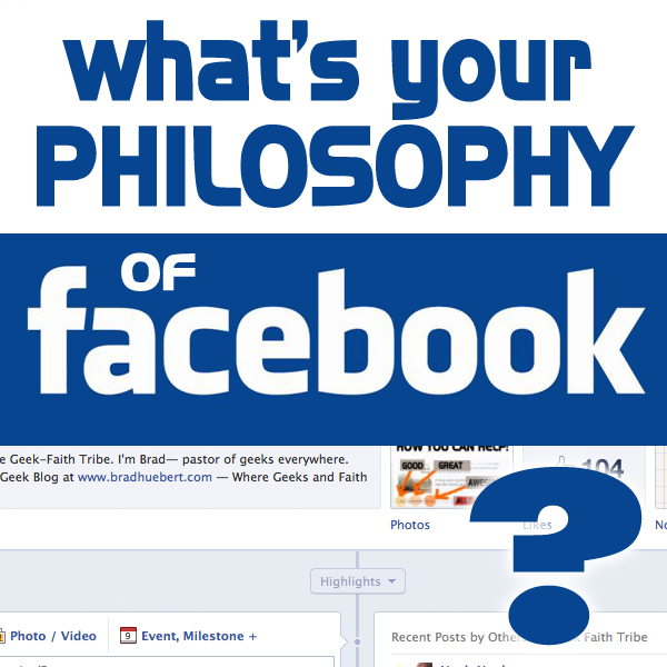 Twelve Facebook Philosophies: Which one are you?