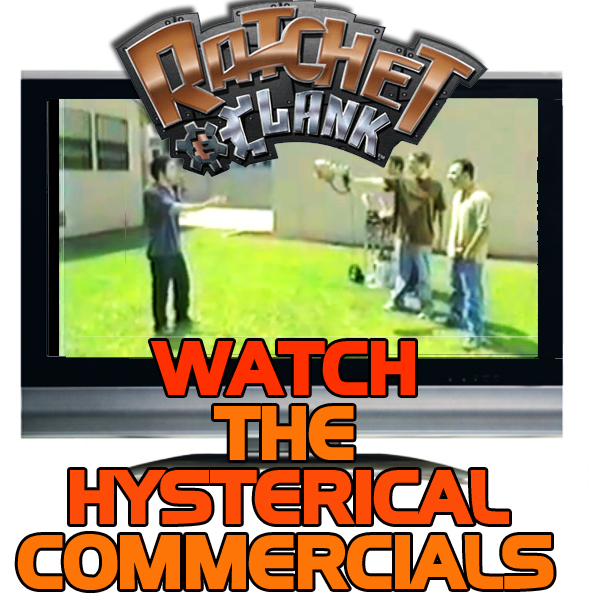 Old School Ratchet and Clank Commercials