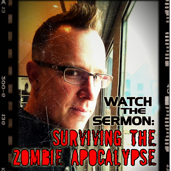 Pastor Preaches on the Zombie-pocalypse
