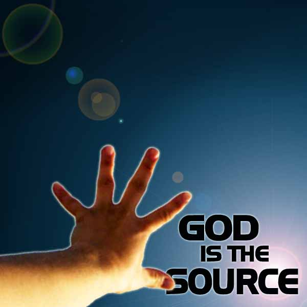 God is the Source