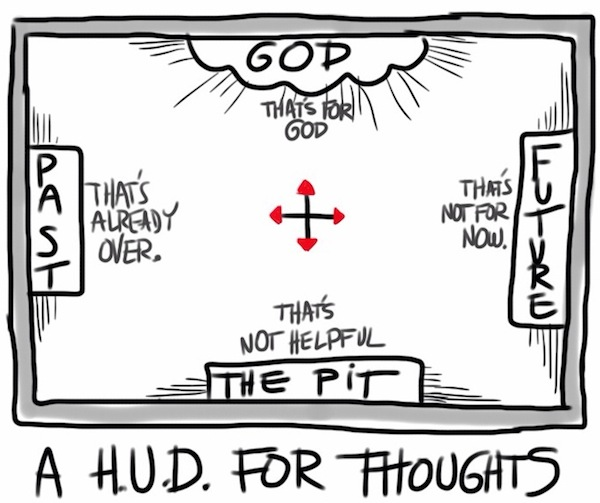 HUD for thoughts